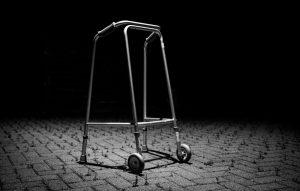 John Twohig's 'Walking Frame Available,' July 2020.