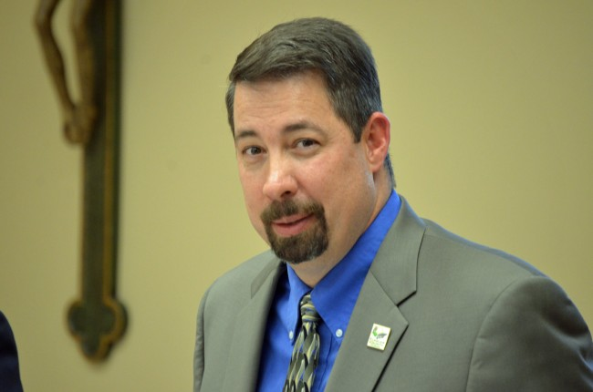 Flagler County Administrator Craig Coffey has big plans. (© FlaglerLive)