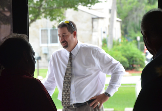County Administrator Craig Coffey has been at the Flagler job since 2007. (© FlaglerLive)