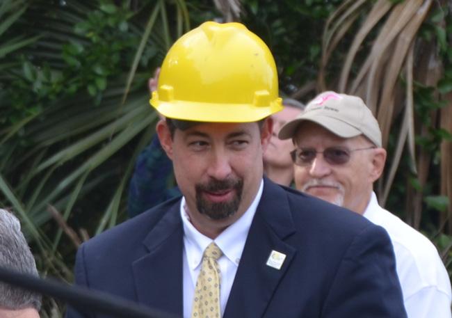 The deal-maker: Flagler County Administrator Craig Coffey. (© FlaglerLive)