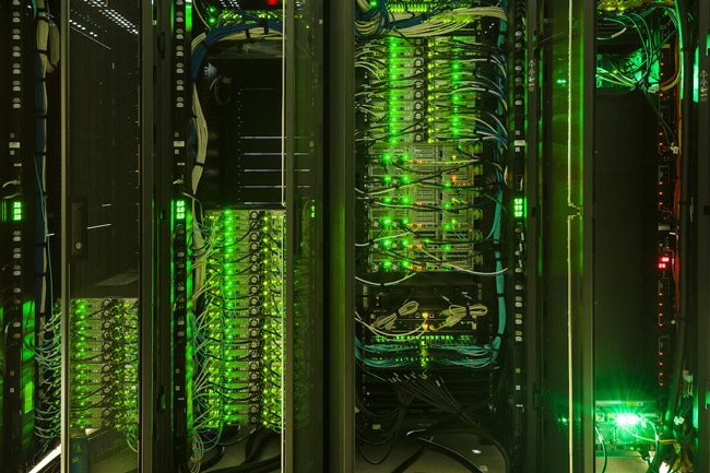 Embry-Riddle's Cray supercomputer, above, will do the heavy lifting. (Embry-Riddle Aeronautical University)
