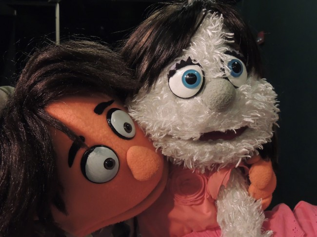 Princeton and Kate Monster in 'Avenue Q.'