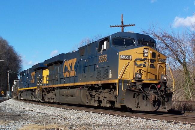 CSX was found not to have been negligent in the heart-attack death of an employee on the job. (John Mueller)