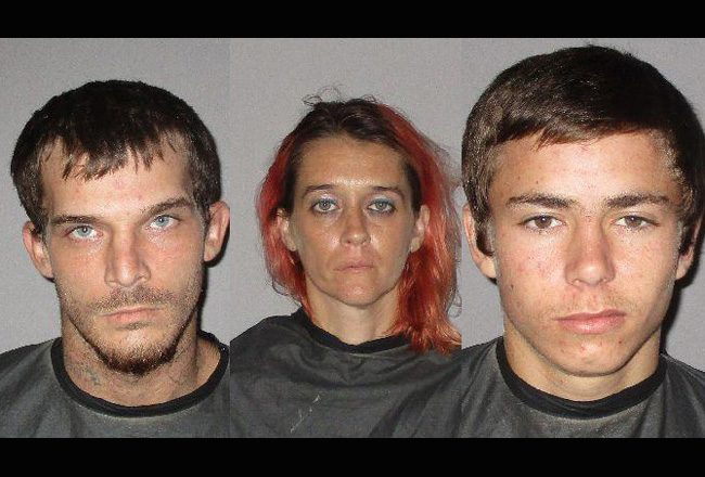From left, Brian Swartz, Jennifer Smith and Cody Driggers.