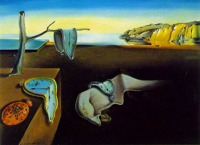 Salvador Dali's 'The Persistence of Memory,' painted by the surrealist in 1931 and hanging at the Museum of Modern Art since 1934.
