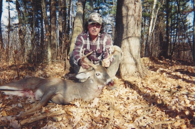 Dana Mulhall was an avid hunter and fisherman, and had once spoken with Paul Miller of the numerous deer, and one moose, he had bagged. Click on the image for larger view. (© Mulhall family/Cindy Wellborn)