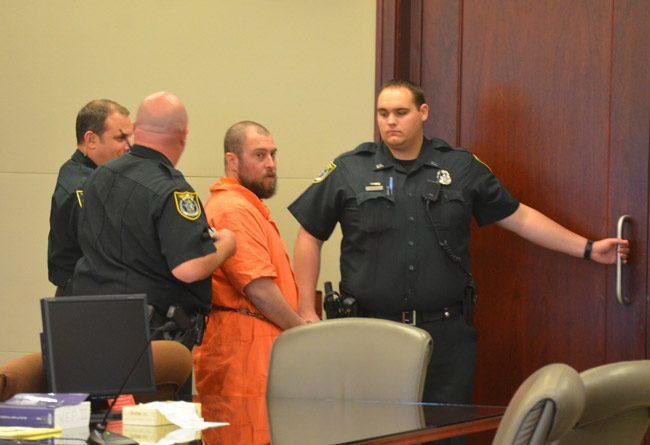 Daniel Noble was at the Flagler County jail until this spring. (© FlaglerLive)