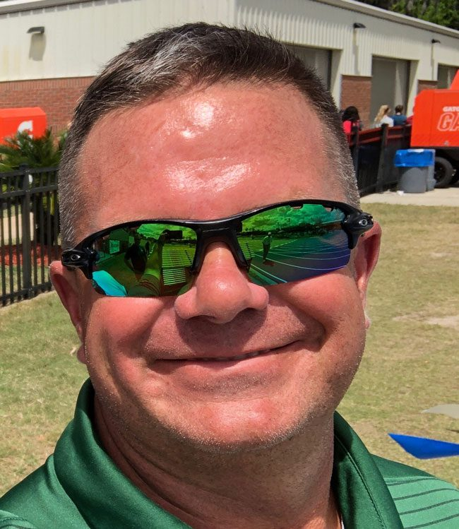 Flagler Palm Coast High School's Dave Halliday, a hall of famer locally, was named Florida's Boys' Track and Field Coach of the Year by the U.S. Track and Field and Cross Country Coaches Association. (Flagler schools)