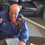 County Commissioner Dave Sullivan, above, opted to declare his appearance on fellow-Commissioner Joe Mullins's radio show as an in-kind gift, and reimburse its value of around $250, to avoid the appearance of improprieties. Sullivan had appeared on the show when it was guest-hosted by a county employee, with two other county employees as guests. Mullins was not on the show that week. (© FlaglerLive)