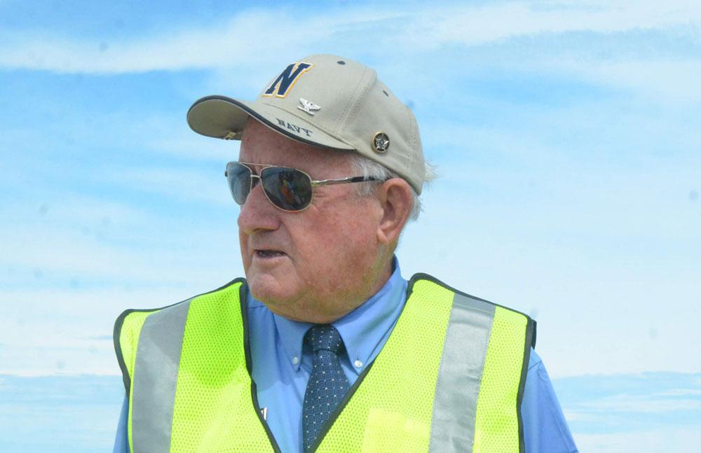 Flagler County Commissioner Dave Sullivan was critical of ICI Homes, developer of Plantation Bay, at a commission meeting Monday. (© FlaglerLive)