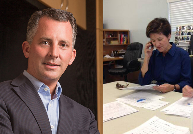 David Jolly beat Alex Sink by 1 percent in a race seen as a bellwether for the mid-term elections. (Facebook)