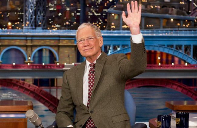 david letterman johnny carson