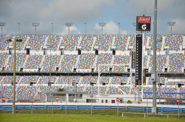 The Daytona International Speedway will not get a taxpayer handout, at least not from Tallahassee. (© FlaglerLive)