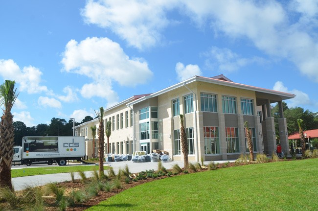 Just last summer Daytona State College's Palm Coast campus, where numerous students seek out four-year degrees, marked the opening of its latest expansion. (© FlaglerLive)