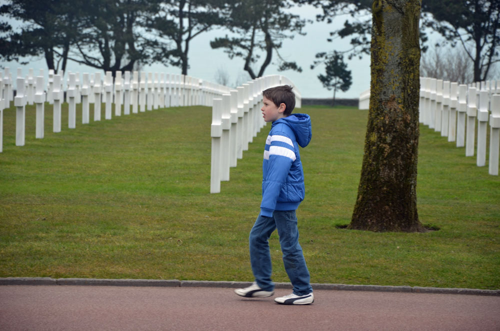 There was no hesitation in sending them to their death so others could live: the American cemetery in Colleville-sur-Mer, in Normandy. (© FlaglerLive)