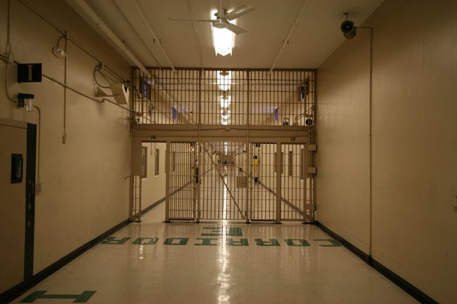 Florida's actual death row. (Florida State Prison)