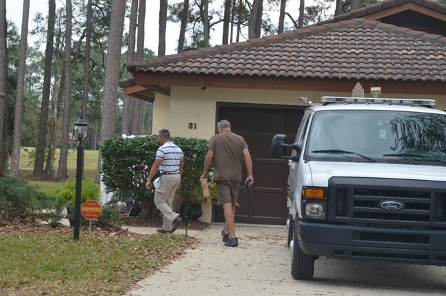 ups delivery swat search