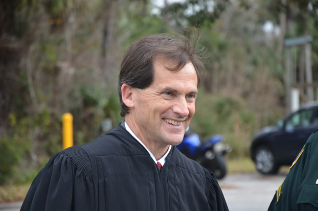 Circuit Court Judge Dennis Craig was elected in 2010. (© FlaglerLive)