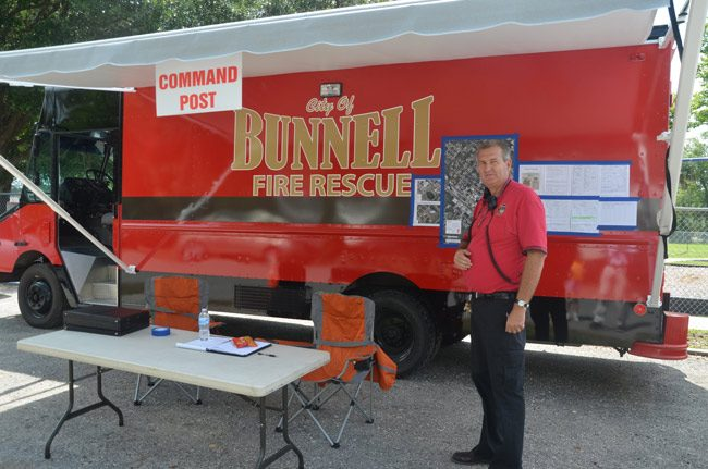 bunnell fire chief derek fraser