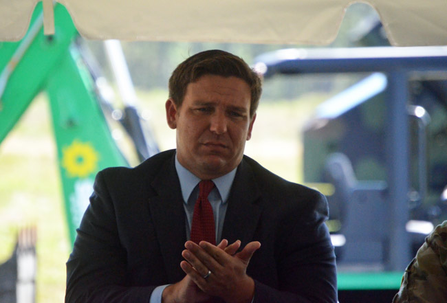 DeSantis 'Would Make a Great Governor of Florida'