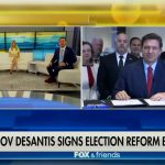 "Gov. Ron DeSantis signed the controversial bill on ""Fox & Friends"" this morning."