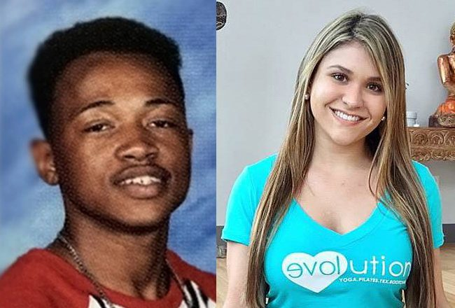 Calvin Desir in a yearbook photo and Sydney Aiello, from a GoFundMe page.
