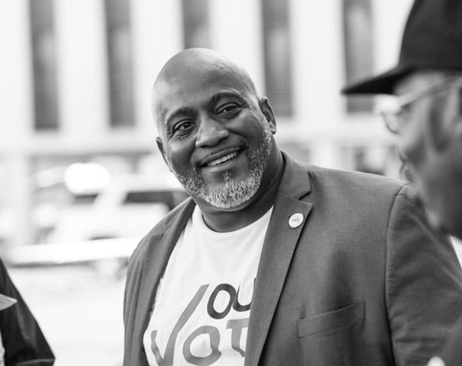Desmond Meade of the Florida Rights Restoration Coalition, one of the groups most instrumental in the passage of Amendment 4 last November. (FRRC)