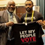 A victory for Desmond Meade, left, hundreds of thousands of felons who have served their time, and the 14th Amendment. (Facebook)who have served their time, and