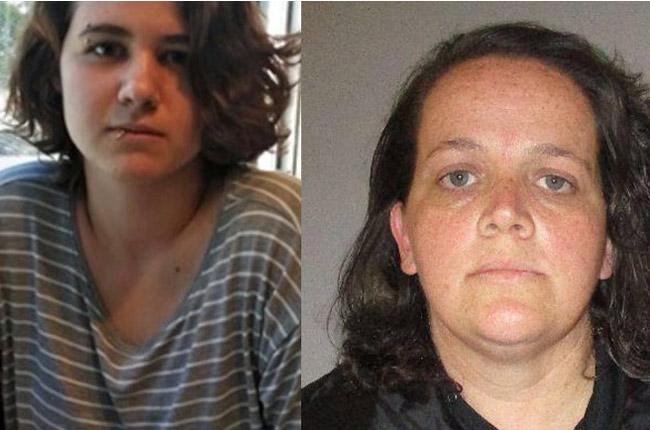 Kindra Dixon, right, and Samantha Posella.