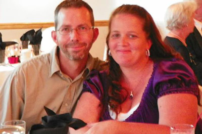 Kindra Dixon and her boyfriend Roy Edward Casey III in an image they released in 2016 as they were seeking donations as they recovered from a fire and medical issues.