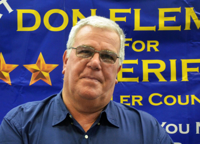 don fleming flagler sheriff candidate 2016