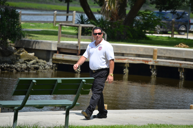 Flagler County Fire Chief Don Petito is looking to walk . (© FlaglerLive)