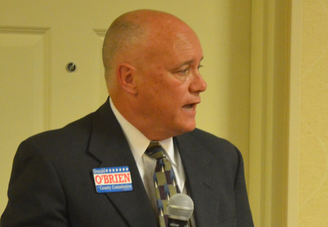 flagler county commission candiodate donald o'brien 2016 donnie