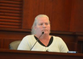 On the stand for an hour today, Dorothy Singer was as unemotional as she'd been throughout the four days of trial. (c FlaglerLive)