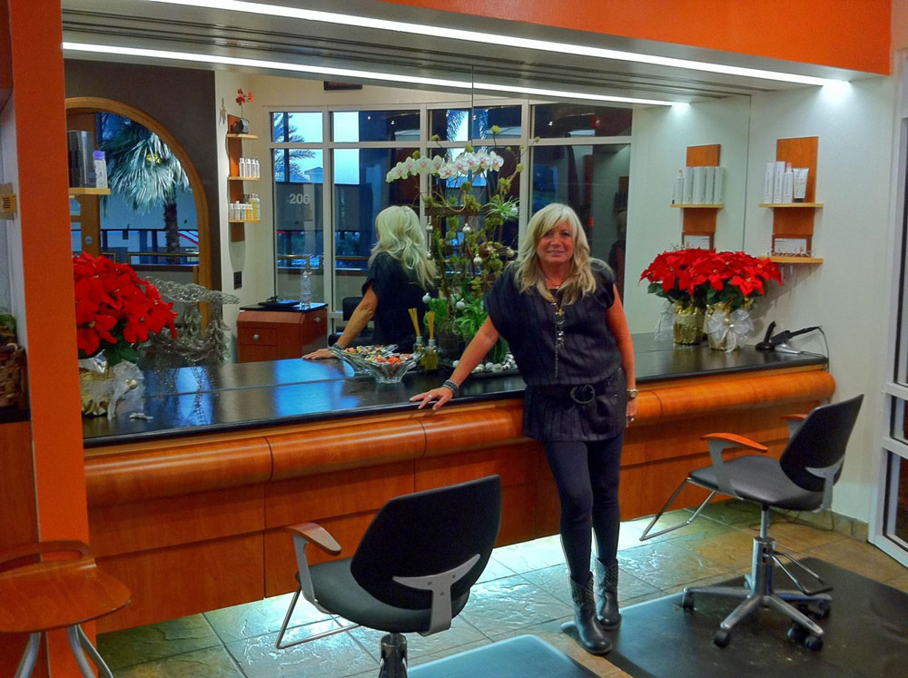 Dorothy Strickland, a long-time hair stylist, had owned Strictly Dorothy and Friends in Miami before moving permanently to Flagler Beach several years ago, to the house she'd owned there for 20 years. (Facebook)