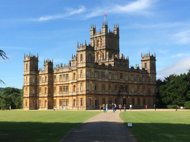 The vacation rental homes Flagler County aims to regulate are just a little smaller than Highclere Castle, currently posing as Downton Abbey. (Kevin Oliver)