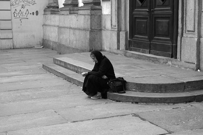 Because being poor isn't enough. (Matteo Angelino)