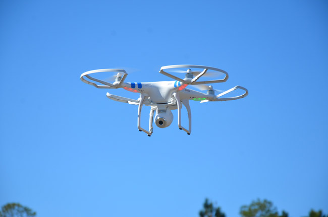 flagler beach drones
