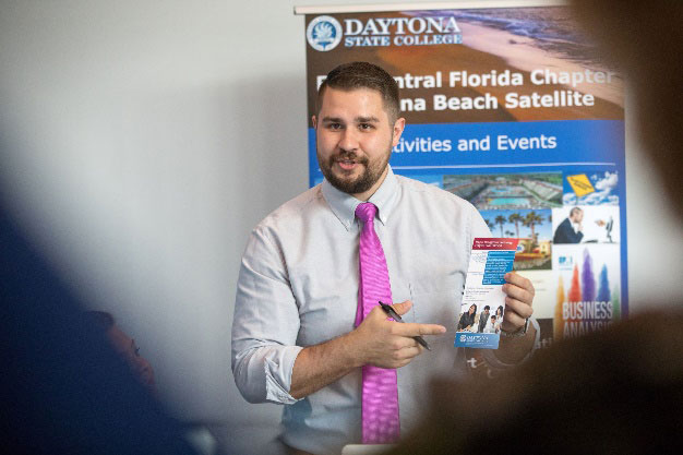 The project will promote and nurture an entrepreneurial mindset for Daytona State students.. (DSC)