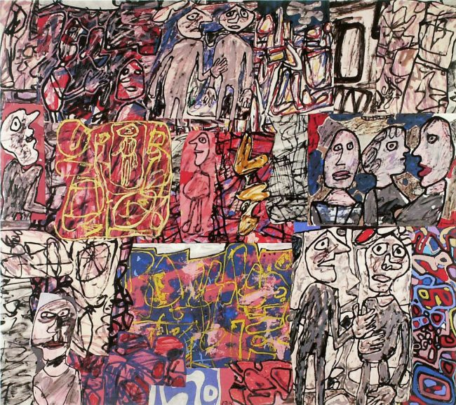 calendar of events coming days flaglerlive Jean Dubuffet's 'Activité généralisée' (Generalized Activity, 1976).