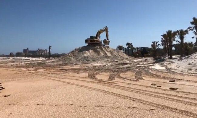 dunes repairs