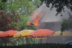dunkin donuts fire palm coast