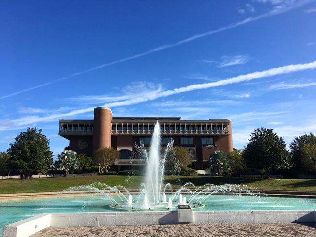 The University of Central Florida campus. But is it eligible as an early-voting site? (Facebook)