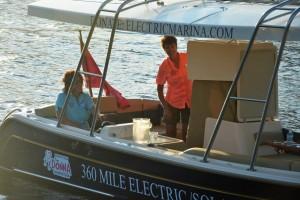 electric boat bathroom