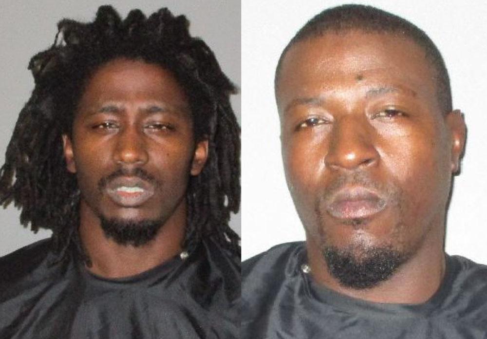 Antrell Bryant, left, and Michael Ellis. (FCSO)