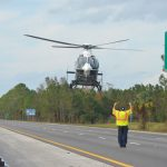 A motorcyclist airlifted from a crash scene on I-95 on April 1 succumbed to his injuries a week later. The image above is a file photo unrelated to that crash. (© FlaglerLive)