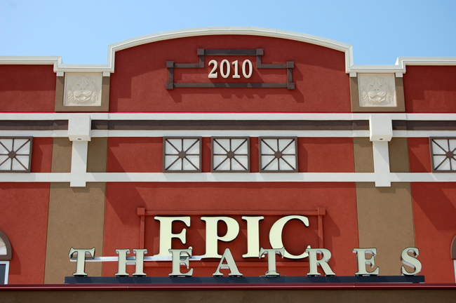 Epic Theatre in Town Center Opens for Bigwigs Before Friday's ...