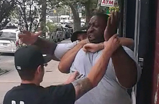 Eric Garner never had a chance.