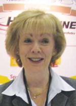 Erlene Thomas, in an image from a 2012 Pacific Dental Conference 'scrapbook.'