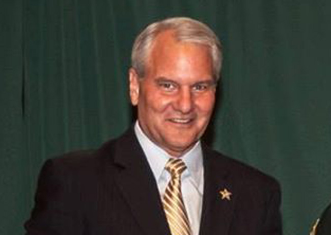 Donald Eslinger, Seminole County sheriff, is opposed to Amendment 2 that would legalize medical marijuana. (Facebook)